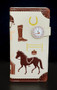 Unbridled - Horse Themed Equestrian - Large Zipper Wallet