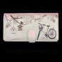 "Vintage Postcard ""Let's Go For A Ride"" - Large Zipper Wallet"