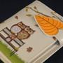 Park Bench Owls - Small Zipper Wallet