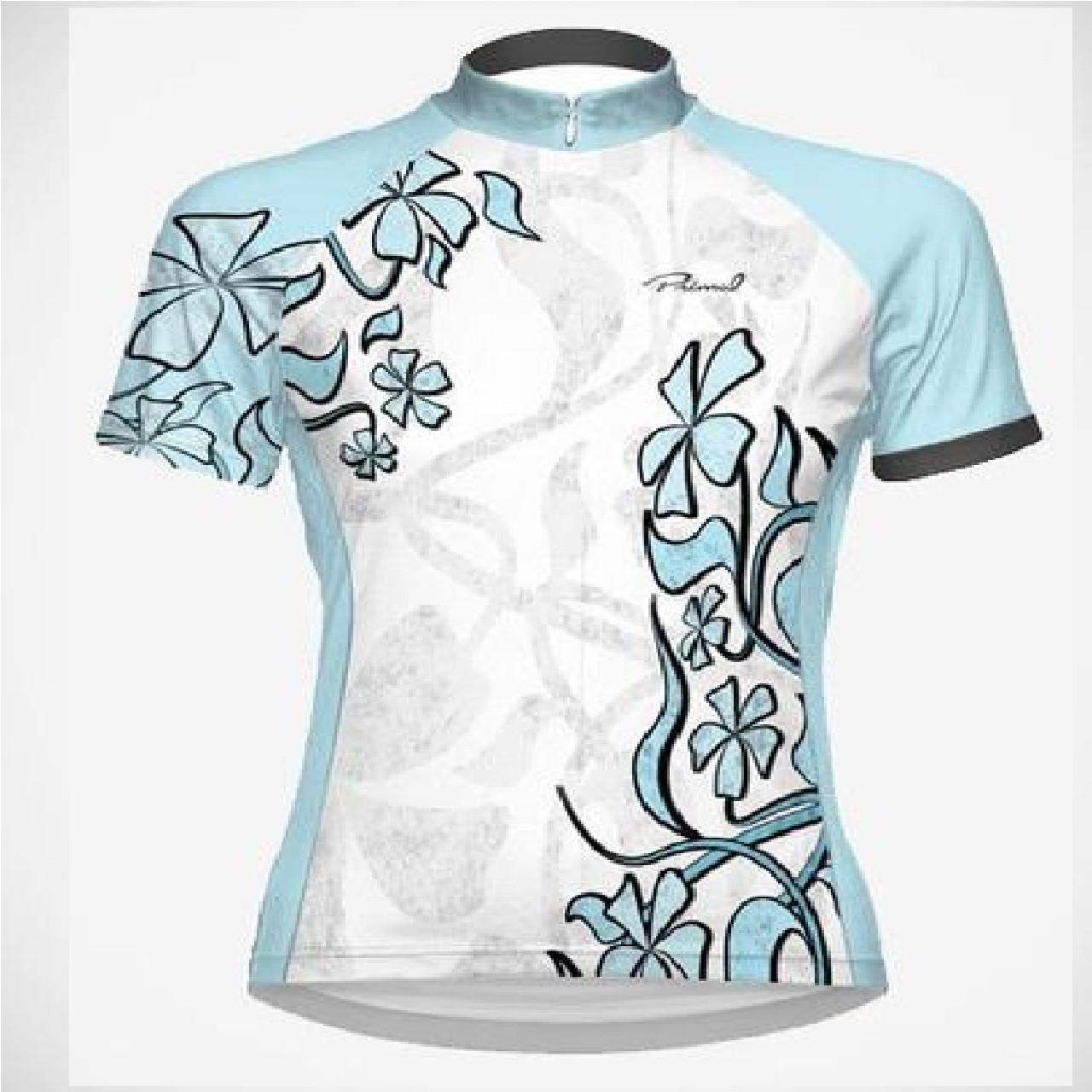 01f67445b015 BoyerCycling Primal Wear Petal Women's Sport Cut Jersey 3/4 Zip Cycling  Jersey Xtra small 74.99