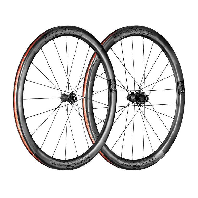 Vision Metron 45 TL Carbon Clincher Wheelset -CL Disc Brake BoyerCycling