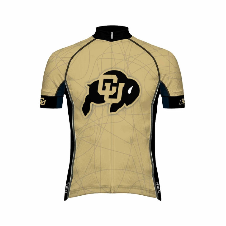 University of Colorado Cycling Jersey Front @boyerCycling.com