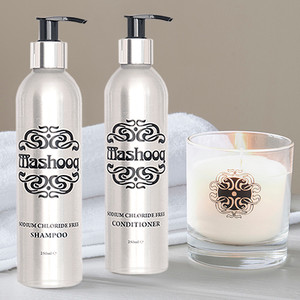 Mashooq Shampoo & Conditioner for Keratin Treated Hair, Candle