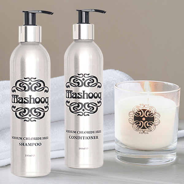 Mashooq Shampoo & Conditioner for Keratin Treated Hair, Candle