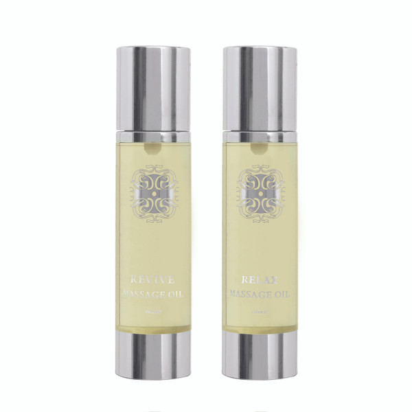 Mashooq Revive, Relax, massage oils duo