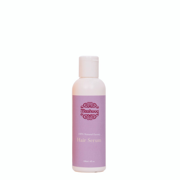 As with all Mashooq products hair serum has not been tested on animals and consists of the Mashooq blend of 100% natural ingredients; palm oil, olive oil, coconut oil, wheat germ oil, sweet almond oil, sunflower oil, lavender, rosemary oil, tea tree oil.