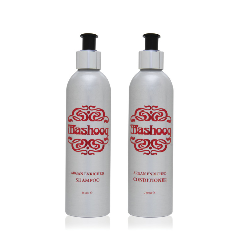 Value pack shampoo and conditioner.