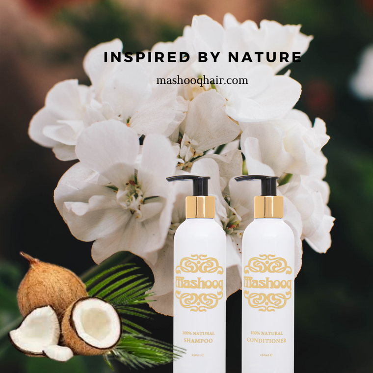 100% NATURAL: Mashooq natural shampoo is prepared using only naturally derived ingredients. Made from generous amounts of Lavender oil, Geranium Oil & Aloe vera juice; this shampoo will get the clean hair you want with all the bounce & fullness you require.
