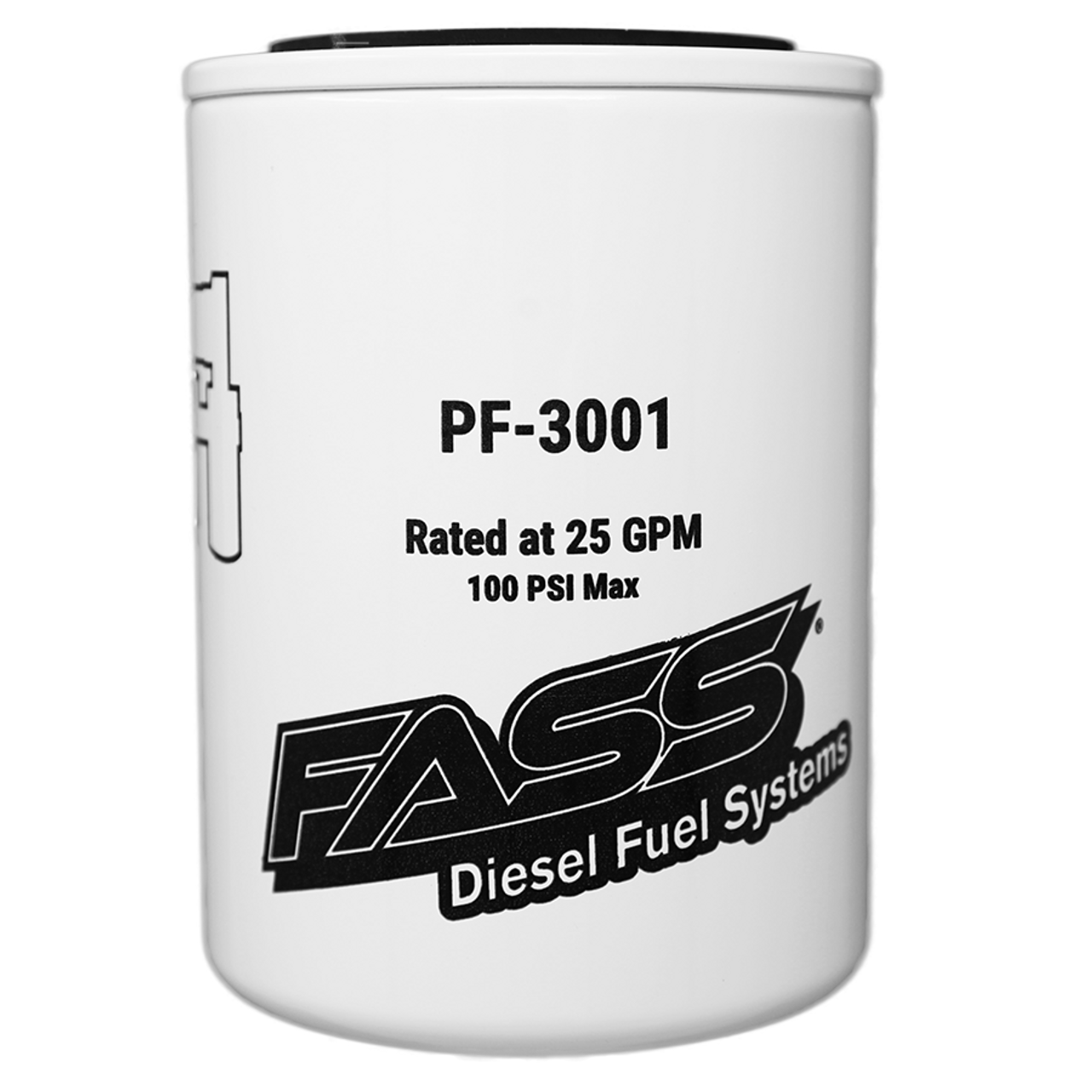 FASS Fuel System HD Series Replacement 3 Micron Fuel Filter FF-1003