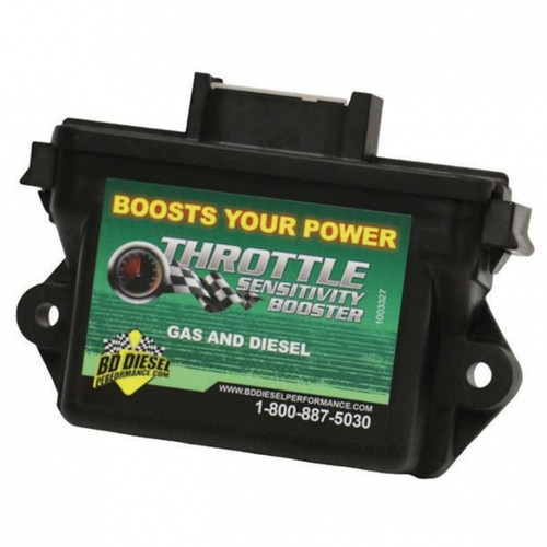 BD-Power 1057732 Throttle Sensitivity Booster 2007-2017 Dodge 5.9L/6.7L Cummins | 2011-2017 Ford 6.7L Powerstroke | 2014-2017 Ram 1500 3.0L EcoDiesel - Discontinued