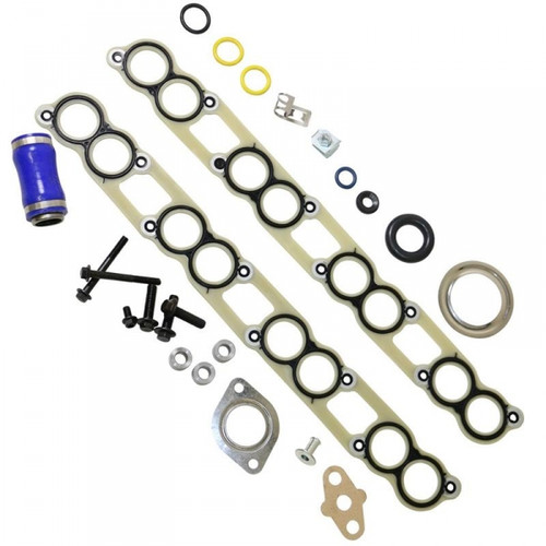 BD-Power 1900204 EGR Cooler Gasket Kit 2004-2007 Ford 6.0L Powerstroke (Square Cooler)