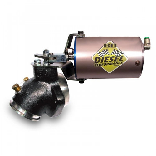 BD-Power 2033135 Turbo Mount Exhaust Brake 1989-1998 Dodge 5.9L Cummins (Vacuum Actuated)