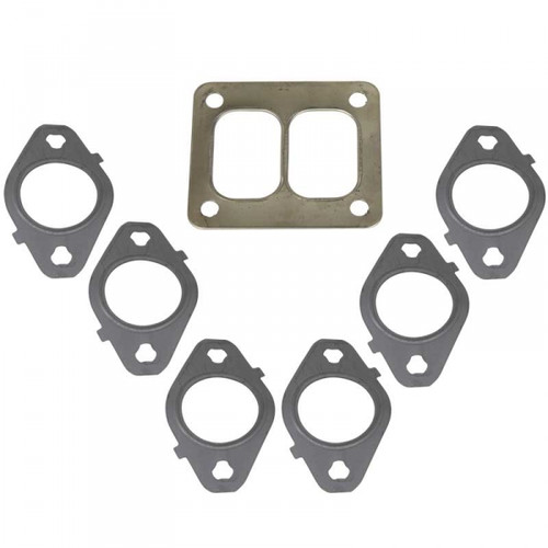 BD-Power 1045986-T4 Exhaust Manifold Gasket Kit 1998.5-2017 Dodge 5.9L/6.7L Cummins (T4 Manifold)