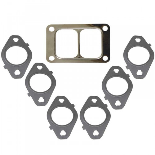 BD-Power 1045986-T6 Exhaust Manifold Gasket Kit 1998.5-2017 Dodge 5.9L/6.7L Cummins (T6 Manifold)