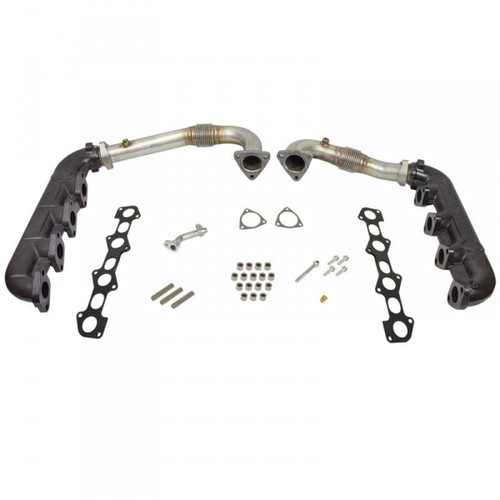 BD-Power 1041481 Up-Pipe & Manifold Kit 2008-2010 Ford 6.4L Powerstroke