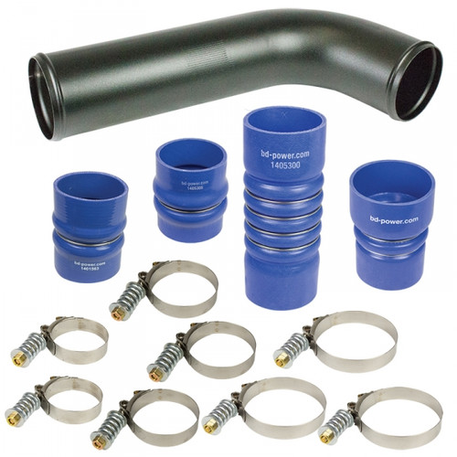 BD-Power 1045216 Intercooler Hose & Clamp Kit 2007.5-2009 Dodge 6.7L Cummins