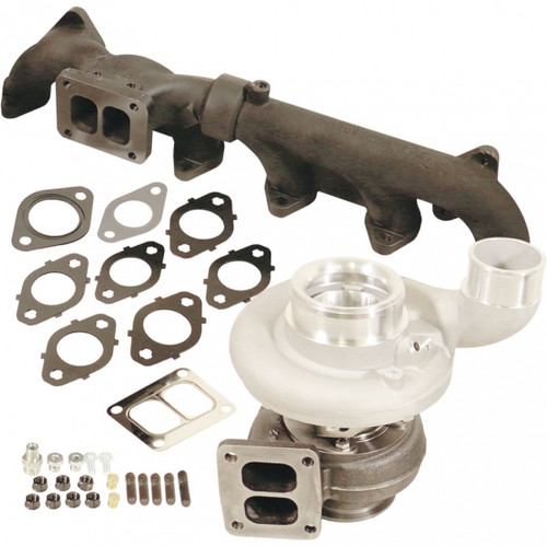 BD-Power 1045299 Iron Horn S369SXE/80 1.00 AR Turbo Kit 2007.5-2018 Dodge 6.7L Cummins