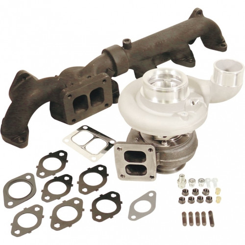 BD-Power 1045298 Iron Horn S369SXE/80 0.91 AR Turbo Kit 2007.5-2018 Dodge 6.7L Cummins