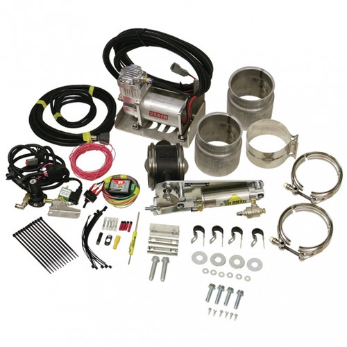 """BD-Power 1028150 5"""" Remote Mount Exhaust Brake With Air Compressor Universal - For 5"""" Exhaust Systems"""