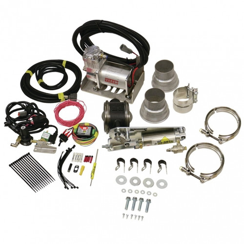 """BD-Power 1028030 3"""" Remote Mount Exhaust Brake Universal - For 3"""" Exhaust Systems"""
