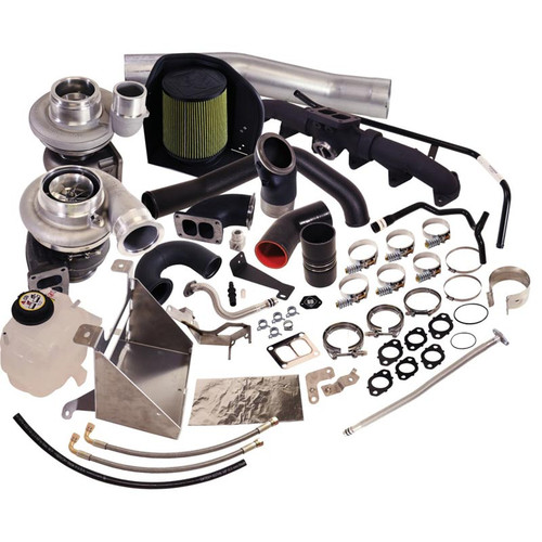 BD-Power 1045796 Cobra 80 Twin Turbo Kit S364.5SX-E/S480SX-E 2013-2018 Dodge Ram 6.7L Cummins