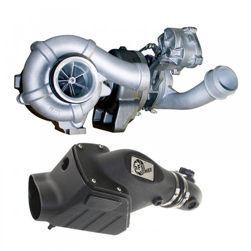 BD-Power 1047080 Twin Turbo Upgrade with Intake System 2008-2010 Ford 6.4L Powerstroke