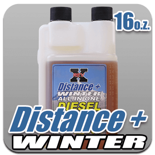 Distance + Winter Fuel Additive 16 oz. Bottle