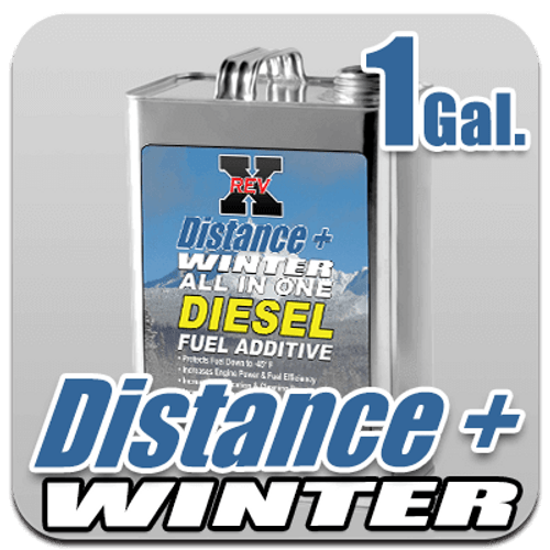 Distance + Winter Fuel Additive 1 US Gallon Bottle (1GAL)