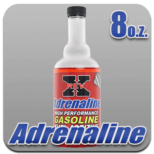 REV X Adrenaline Gas Fuel Additive 8 oz. Bottle