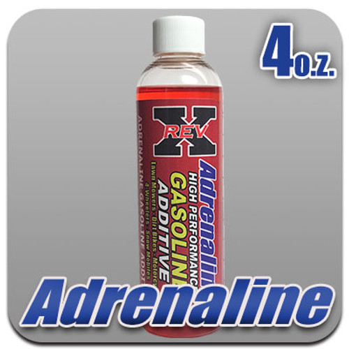 REV X Adrenaline (Gas) Fuel Additive 4 oz. Bottle