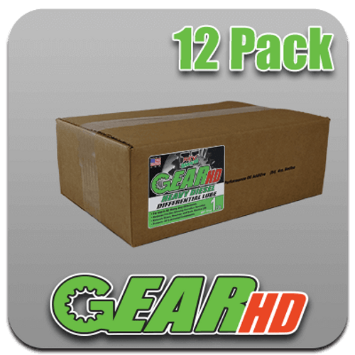 GEAR HD Differential Fluid 85/140 (32oz) (case)
