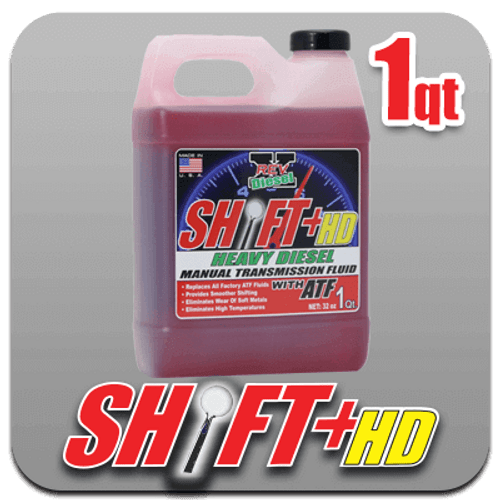 SHIFT+ HD Manual Transmission Fluid (32oz)