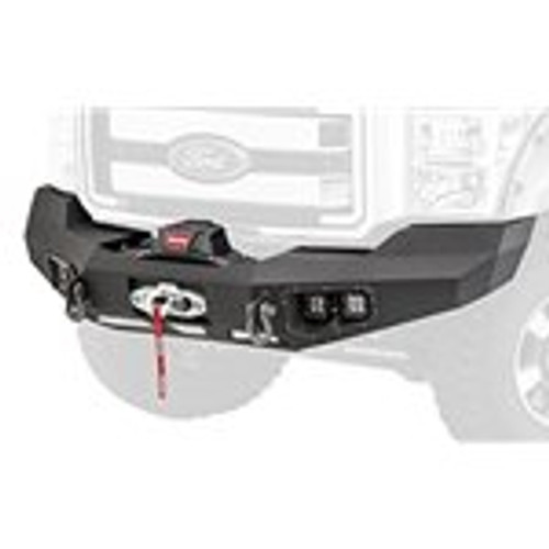 Warn Ascent Front Winch Bumper 2011-2016 Ford F-250 / F-350 SuperDuty 4x4