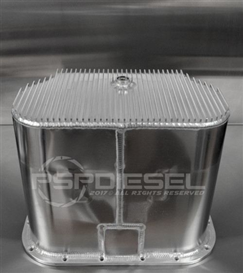 PSP Diesel 6.0L Aluminum Oil Pan - High Capacity