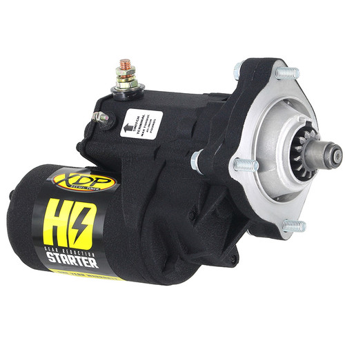 XDP Wrinkle Black Gear Reduction Starter XD251  2001-2019 GM 6.6L Duramax