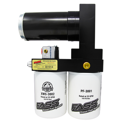 FASS Diesel Fuel Systems 2008-2010 Ford Powerstroke 6.4L Titanium Signature Series 290GPH