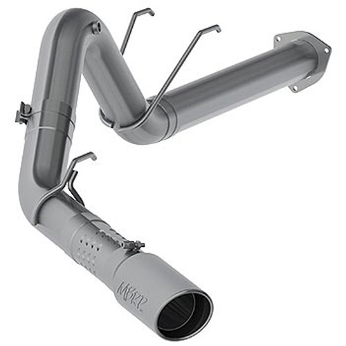 "MBRP S62930409 5"" XP Series Filter-Back Exhaust System 2017-2020 Ford 6.7L Powerstroke (All Crew & Ext. Cabs)"
