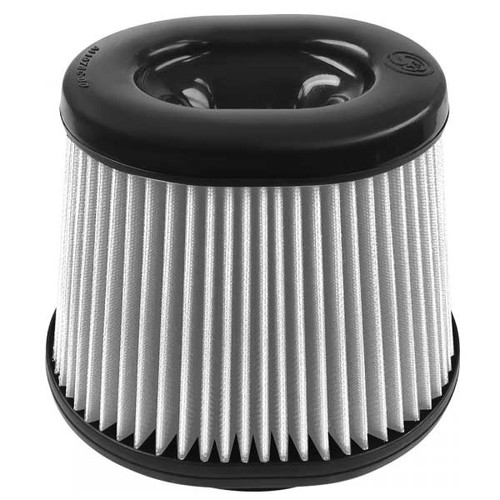 S&B Filters KF-1051D Replacement Filter (Dry Disposable) For use with S&B Cold Air Intake Kit (Oval Flange)