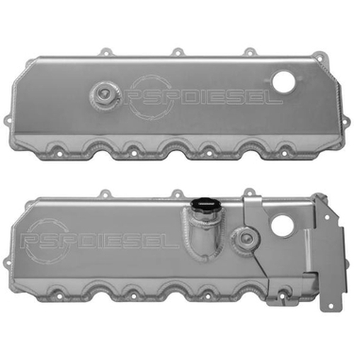 PSP Diesel 6.0L Power Stroke Aluminum Valve Covers 27843