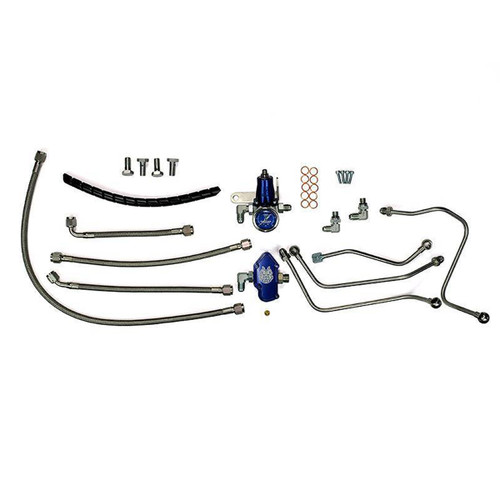 Sinister Diesel 6.0L Powerstroke Regulated Fuel Return Kit Ford 6.0L (2003-2007)