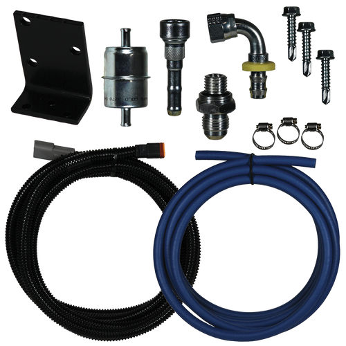 FASS 1998.5-2002 Dodge Cummins Replacement Pump (DRP02) Relocation Kit