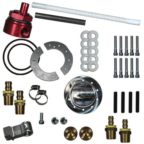 FASS Diesel Fuel Sump Kit With Bulkhead Suction Tube Kit