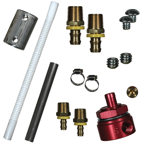 FASS Fuel Systems Diesel Fuel Bulkhead and Convoluted Suction Tube Kit (STK-1003)