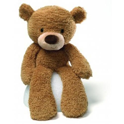 Gund Fuzzy Bear Beige