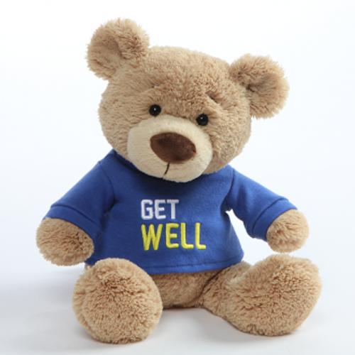 Gund Get Well Teddy Bear Blue
