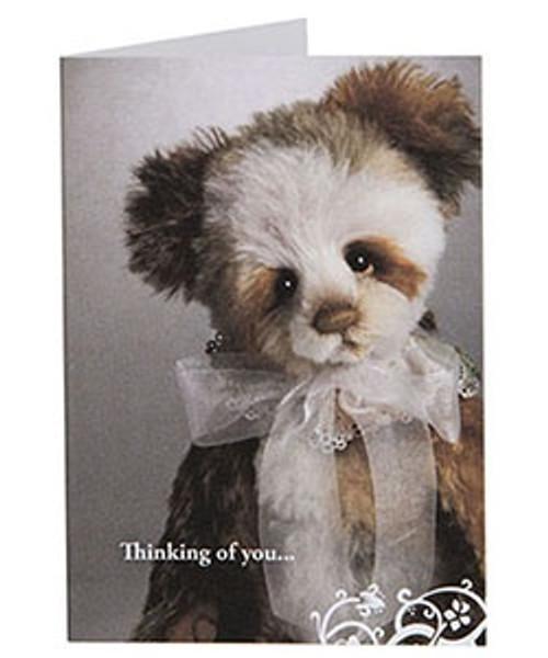 Charlie Bears Gift Card Mohair Year Bear