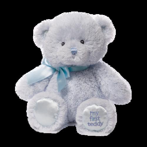 Gund My First Teddy Blue