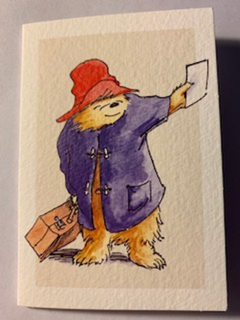 A Note From Paddington  Note Card