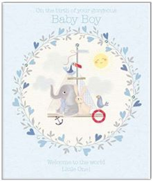 Card Baby Boy Welcome