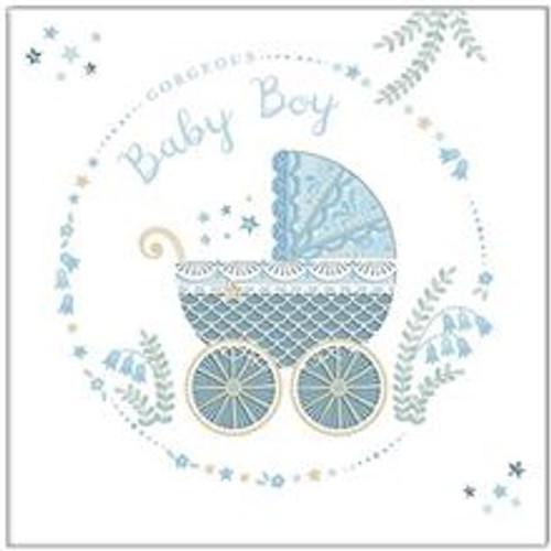 Card Gorgeous Baby Boy